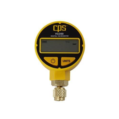 CPS Digital LCD Vacuum Torr Gauge VG200