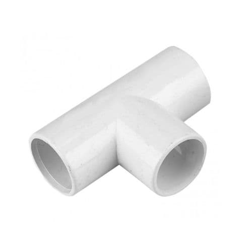 FloPlast Overflow Tees White 21.5mm