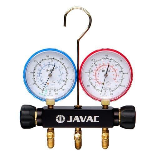 Javac 2 valve R410A/R32 Manifold Only