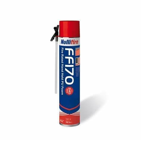 Nullifire FF170 Fire Rated Hand Held Expanding Foam