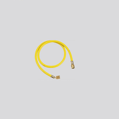 "Refco Hose Leads 1/4"" SAE Single Yellow Lines"