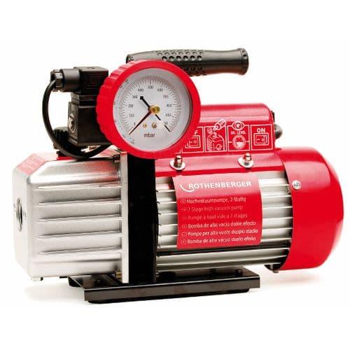 Rothenberger ROAIRVAC 9.0 Vacuum Pump - 255 Litre/min (9 CFM)