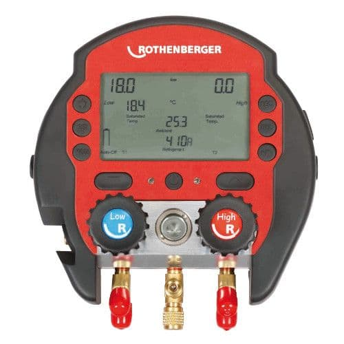 Rothenberger Rocool 600 - Digital Gauges