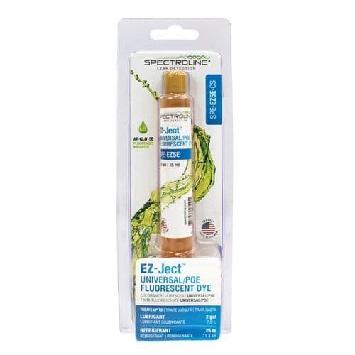 Spectroline Ez-Ject Fluorescent POE Dye Cartridge 15ml