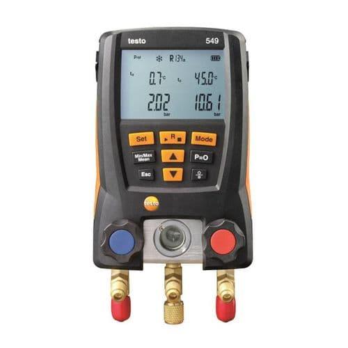 Testo 549 Digital Refrigeration Manifold 0560 0550