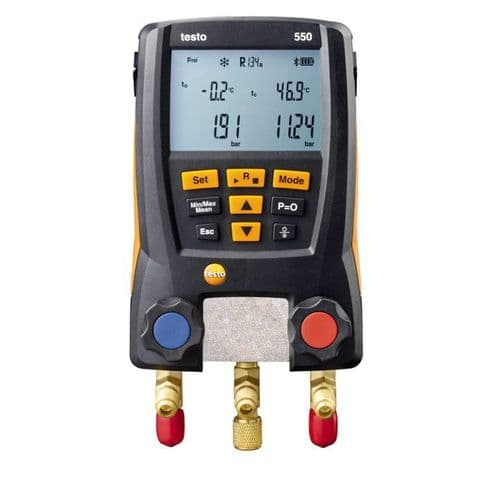 Testo 550 - Digital Refrigeration Gauges Bluetooth 0563 1551