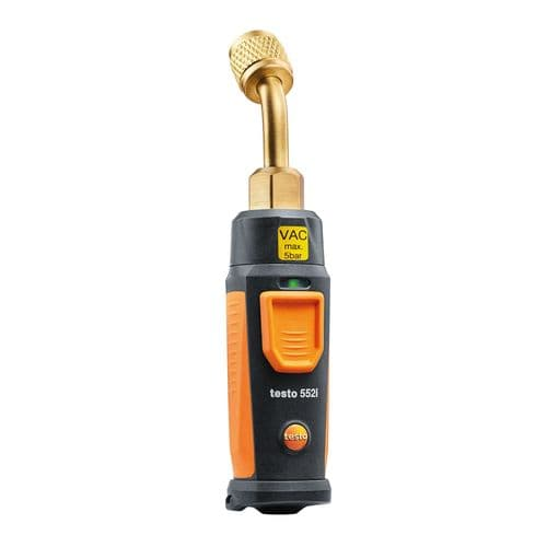 testo 552i Wireless Vacuum Probe Air Conditioning & Refrigeration Torr Gauge 0564 2552