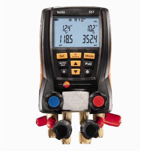 Testo 557 Digital Refrigeration Manifold 0563 1558
