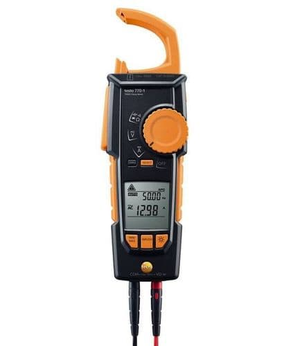 testo 770-1 - TRMS Electrical Testing Clamp meter 0590 7701