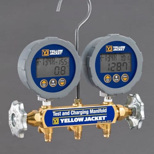 Yellow Jacket Series 41 Digital 2 Valve Manifold