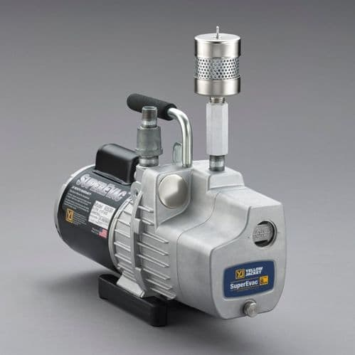 Yellow Jacket SuperEvac Vacuum Pump for Ammonia NH3 UK Model