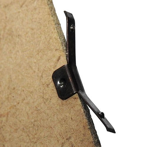 Backing Board Bow Springs Bronze Finish