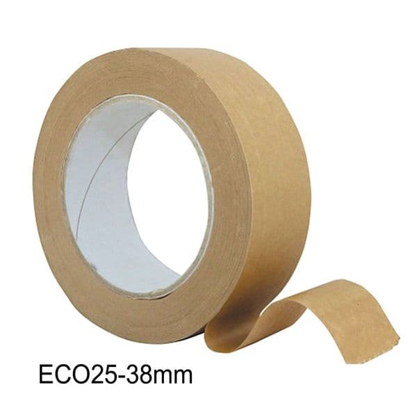 ECO 25 Brown Frame Backing Tape 38mm x 50metre