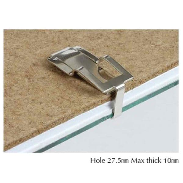 Swiss Clip 10mm With Hanging Hole
