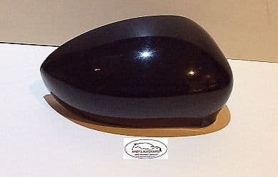 ABARTH 500,595,695 2015 ONWARDS WING MIRROR COVER DRIVERS SIDE IN GLOSS BLACK .