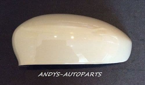 ABARTH 500,595,695 2015 ONWARDS WING MIRROR COVER L/H OR R/H NEW AGE CREAM