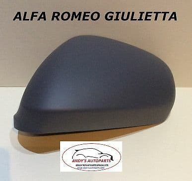 ALFA ROMEO GIULIETTA 2010 ONWARDS WING MIRROR COVER LH OR RH PAINTED ANY COLOUR