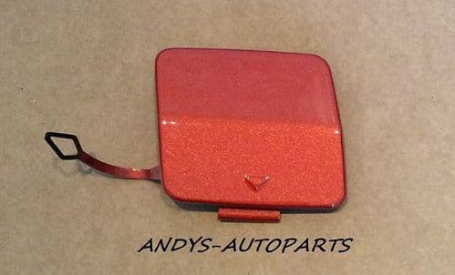 BMW 1 SERIES / F20 FRONT TOWING EYE COVER IN VALENCIA ORANGE