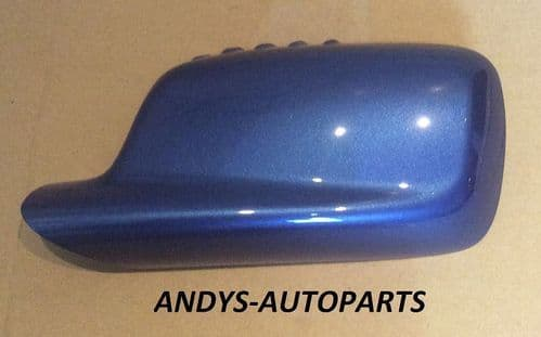 BMW 3 SERIES COUPE 98-05 GENUINE WING MIRROR COVER L/H OR R/H IN ESTORIL BLUE