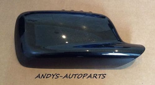 BMW 3 SERIES COUPE 98-05 GENUINE WING MIRROR COVER L/H OR R/H IN SAPPHIRE BLACK