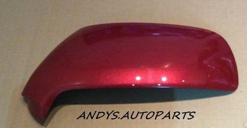 CITROEN C4 PICASSO 2007 - 2013 WING MIRROR COVER NEW L/H OR R/H ROUGE ERYTHREE