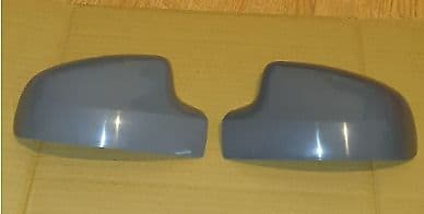 DACIA SANDERO 2013 ONWARD PAIR OF WING MIRROR COVERS PAINTED TO COLOUR OF CHOICE