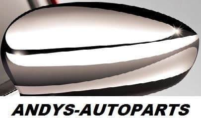 FIAT 500 2007 ONWARDS GENUINE WING MIRROR COVER L/H OR R/H IN CHROME
