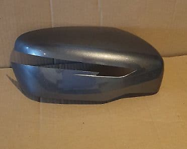 FITS NISSAN QASHQAI 2014+ WING MIRROR COVER L/H OR R/H SIDE IN GUN METALIC