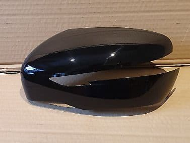 FITS NISSAN X-TRIAL 2014+ WING MIRROR COVER PASSENGER SIDE IN GLOSS BLACK
