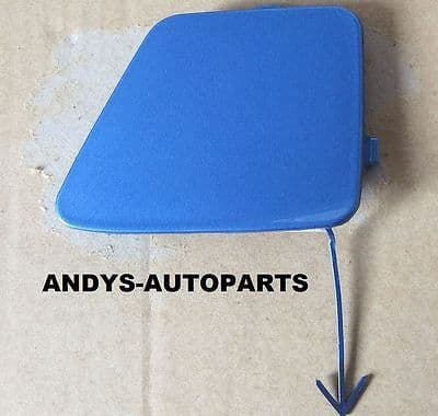 FORD C- MAX 2007 - 2010 FRONT TOWING EYE COVER IN VISION BLUE