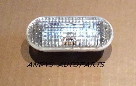 FORD FIESTA 02 ONWARDS  CLEAR WING INDICATOR LENS LEFT OR RIGHT SIDE AVAILABLE