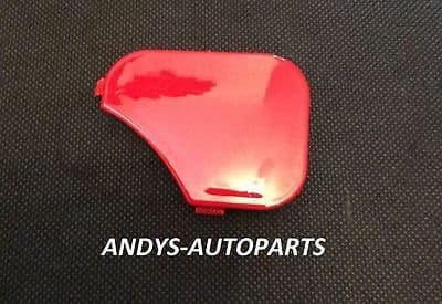 FORD FIESTA 05 - 08 FRONT BUMPER TOWING EYE COVER IN COLORADO RED