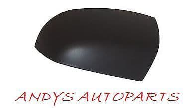 FORD FIESTA 05-08 WING MIRROR COVER LH OR RH SIDE BLACK TEXTURED
