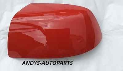 FORD FIESTA 05-08 WING MIRROR COVER LH OR RH SIDE IN RACE RED
