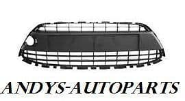 FORD FIESTA 08 - 2012 FRONT BUMPER GRILLE WITH CHROME SURROUND. STANDARD MODELS