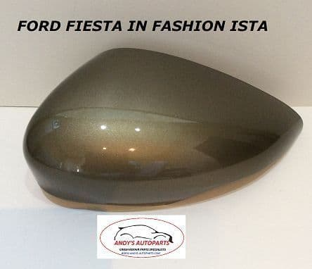 FORD FIESTA  2008 - 2017 GENUINE WING MIRROR COVER LH OR RH SIDE IN FORD FASHION ISTA