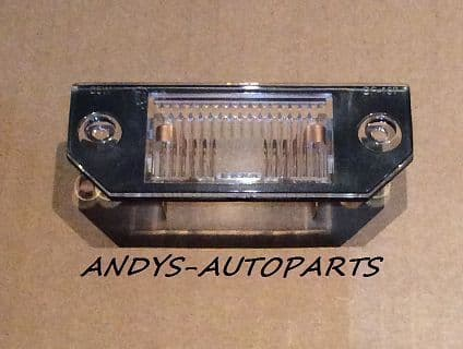 FORD FOCUS 05 - 07 REAR NUMBER PLATE LIGHT