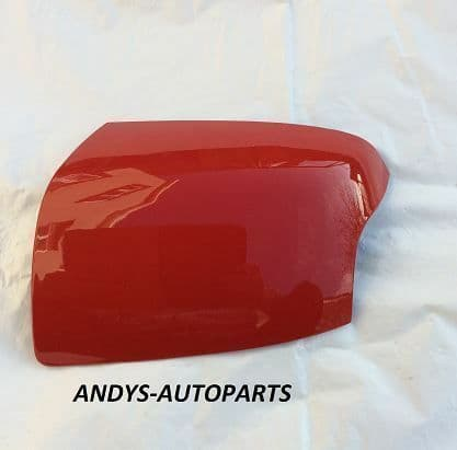 FORD FOCUS 05-08 WING MIRROR COVER LH OR RH SIDE IN COLORADO RED
