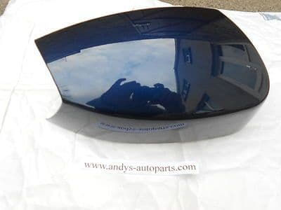 FORD GALAXY 05 - 10 GENUINE FORD WING MIRROR COVER LH OR RH IN JEANS BLUE