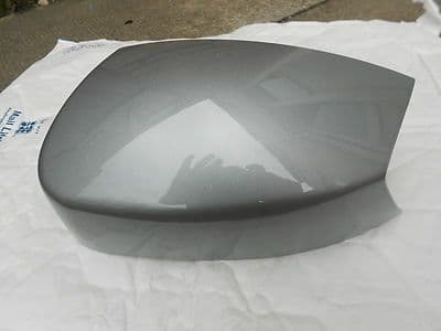 FORD GALAXY 2005 - 2010 GENUINE FORD WING MIRROR COVER LH OR RH IN MACHINE SIVER
