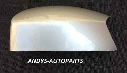 FORD KUGA 2008 ONWARDS WING MIRROR COVER LH OR RH IN STARDUST SILVER