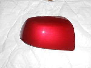 FORD MONDEO 01-07 WING MIRROR COVER LH OR RH SIDE IN TANGO RED
