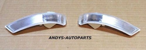 FORD MONDEO 2010 - 2014 PAIR OF WING MIRROR INDICATOR LENS L/H & R/H