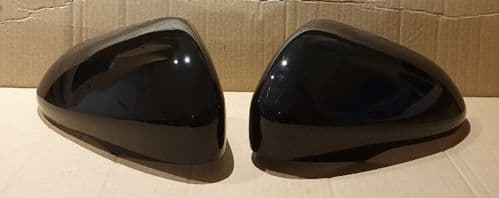 FORD MONDEO 2013+ PAIR OF WING MIRROR COVERS IN GLOSS BLACK