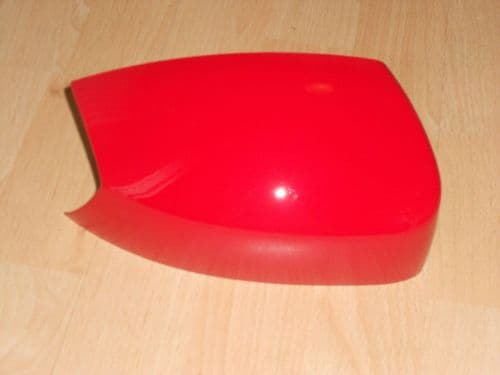FORD S-MAX 05 - 10 WING MIRROR COVER LH OR RH IN COLORADO RED