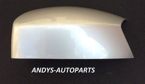 FORD S-MAX 05 - 14 WING MIRROR COVER LH OR RH IN STARDUST SILVER