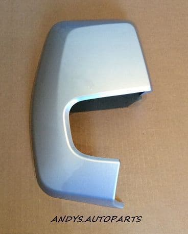 FORD TRANSIT CUSTOM  2012 + WING MIRROR COVER LH OR RH SIDE IN MOONDUST SILVER