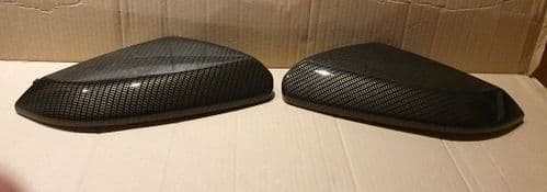 HONDA CIVIC  2017 ONWARDS PAIR OF WING MIRROR COVERS IN CARBON FIBRE HYDRO-DIP