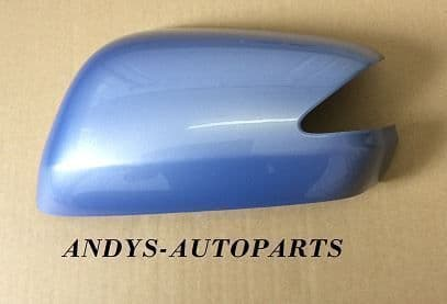 HONDA JAZZ 08 ONWARDS WING MIRROR COVER L/H OR R/H IN SHERBET BLUE