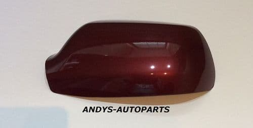MAZDA 3 WING MIRROR COVER 2004 - 2009 LH OR RH IN COPPER RED